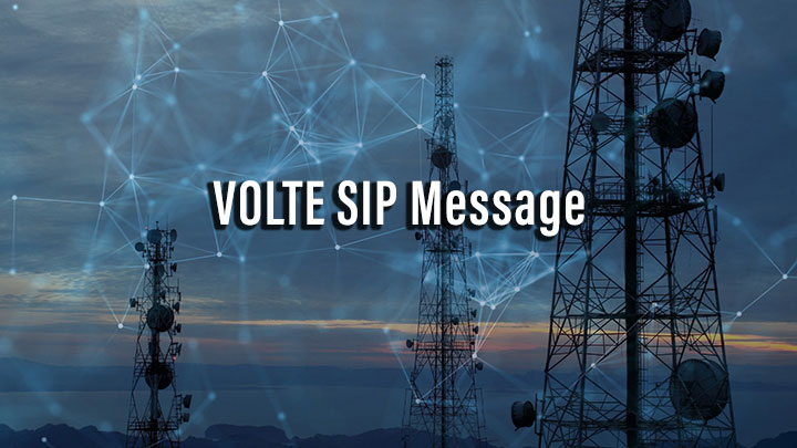 VOLTE SIP Message